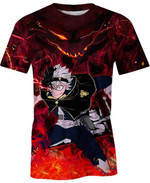 Black Clover Asta For Man And Women 3D T Shirt  All Over Printed G95
