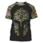 US Marine United American Flag 3D Hoodie Sweatshirt Zip Hoodie T shirt G95