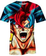 Goku Kakarot For Man And Women 3D T Shirt  All Over Printed G95