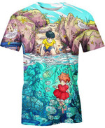 The Ocean Life For Man And Women 3D T Shirt  All Over Printed G95