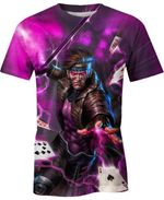 Gambit X Men For Man And Women 3D T Shirt  All Over Printed G95