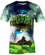 Laputa For Man And Women  3D T Shirt  All Over Printed Y97