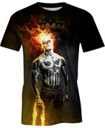 King Of The Fire For Man And Women 3D T Shirt  All Over Printed G95
