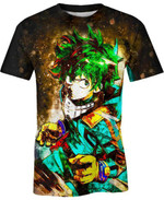Midoriya Izuku Render For Man And Women 3D T Shirt  All Over Printed G95