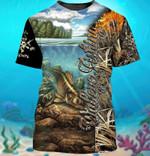 Walleye Fishing For Man And Women 3D T shirt Y97