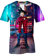 Goku Street Style Ball Dragon Ball For Man And Women  3D T Shirt  All Over Printed Y97