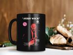 Black Mug John Wick Revenge Mug Keanu Reeves Mug Hitman Mug Daisy Dog Mug Premium Sublime Ceramic Coffee Mug