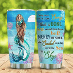Mermaid Song For You ocean Gift for lover Day Travel Tumbler All Over Print