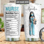 Nurse Facts Personalized nutrition 12 Gift for lover Day Travel Tumbler All Over Print