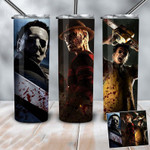 Teams family Horror movies 339 gift for lover Skinny Tumbler