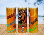 Scooby Doo cartoon A190 gift for lover Skinny Tumbler