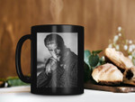 Black Mug Sons Of Anarchy Jax Teller Is Smoking Mug American Crime Coffee Mug Jax Teller Lover Mug Premium Sublime Ceramic Coffee Mug