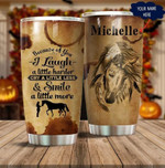 Personalized Horse wild Gift for lover Day Travel Tumbler All Over Print