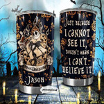 Personalized name Halloween Jack skellington 102 Gift for lover Day Travel Tumbler All Over Print