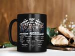Black Mug Fast And Furious 2001 2021 Ride Or Die Mug Paul Walker Mug Vin Diesel Mug And Characters Premium Sublime Ceramic Coffee Mug