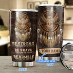 American Owl dreamcatcher custom name Gift for lover Day Travel Tumbler All Over Print