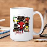 White Mug Marvel Itsy Bitsy Spiderman Premium Sublime Ceramic Coffee Mug