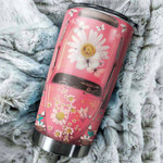 Gift For Hippie Pink Hippie Car Gift for lover Day Travel Tumbler All Over Print