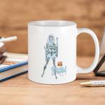 White Mug Marvel Comics Blue Storm Premium Sublime Ceramic Coffee Mug