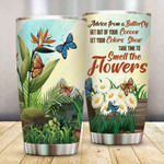 Flower Butterfly Mothers Day Gift Ideas Gift for lover Day Travel Tumbler All Over Print