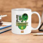 White Mug Marvel Comics Hulk University  Premium Sublime Ceramic Coffee Mug