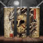 Jason Voorhees Horror movies 272 gift for lover Skinny Tumbler