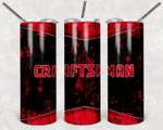 Distressed craftsnman A777 gift for lover Skinny Tumbler