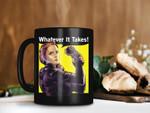 Black Mug Black Widow Whatever It Takes Mug Superheroes Marvel Mug Avengers Endgame Mug Infinity War Premium Sublime Ceramic Coffee Mug