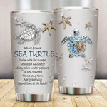 Sea Turtle Gift for lover Day Travel Tumbler All Over Print