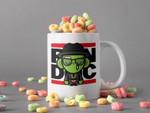 White Mug Run DMC Green Skin Mug Run DMC Lover Gift Hip Hop Legend Mug Vintage Retro Mug Premium Sublime Ceramic Coffee Mug