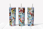 Magic dog Character  A6767 gift for lover Skinny Tumbler