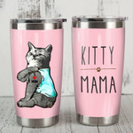Lovely Cat Kitty mama Gift for lover Day Travel Tumbler All Over Print