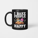 I Bake People Happy Mug