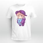 BTS RM and Koya chibi T-shirt