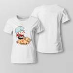 BTS Suga chibi For Ladies T-shirt