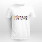 BTS chibi 21st Century Girl Dance Practice (Halloween ver.) T-shirt