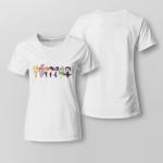 BTS chibi 21st Century Girl Dance Practice (Halloween ver.) For ladies T-shirt