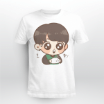 BTS Adorable Jungkook Chibi T-shirt