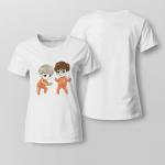 BTS Cute SOPE Chibi For Ladies T-shirt