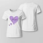 BTS ARMY Borahae For Ladies T-shirt