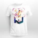 BTS Heart Fanart T-shirt