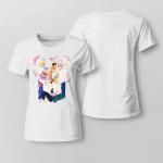 BTS Heart Fanart For Ladies T-shirt
