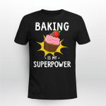 Baking is my SUPERPOWER | Design for Cake lover