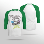 I'm Just Here To Pay For Everything - Sleeve Raglan Tee