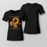 On A Dark Desert Haloween Shirt