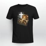 Jesus Lion And Lamb Cross Shirt