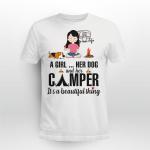 Girl - Dog - Camper