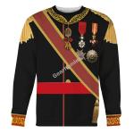 Gearhomies Unisex Sweatshirt Alfonso XII Of Spain 3D Apparel