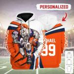Gearhomies Personalized Unisex Tracksuit Hoodies Denver Broncos Football Team 3D Apparel