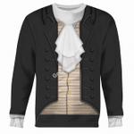 Gearhomies Unisex Sweatshirt Thomas Jefferson 3D Apparel